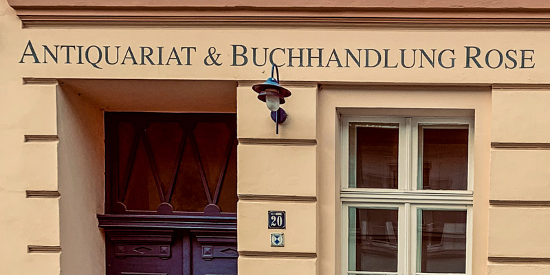 Buchantiquariat Rose