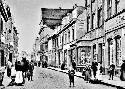Der erste Buchhandel der Stadt