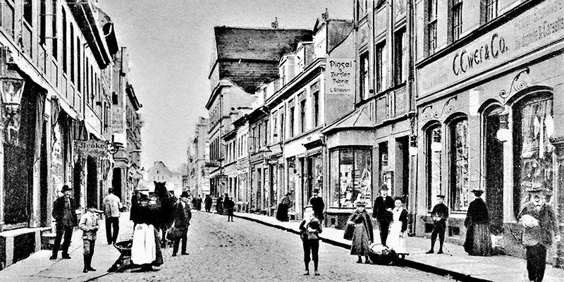 Der erste Buchhandel derStadt