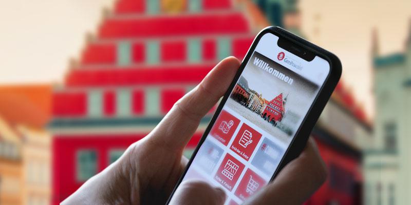 Die neue Greifswald-App